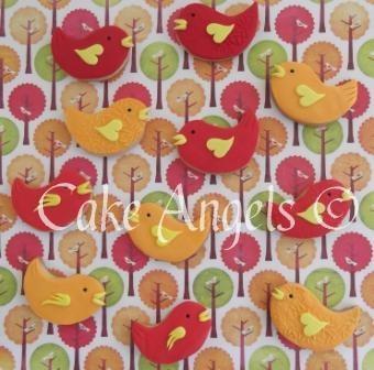 Cute Bird Cookies