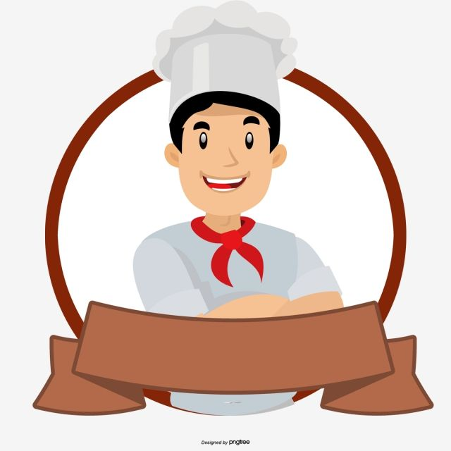 Chef Cartoon Label Chef Hat Clipart Cartoon Chef Food Labels Png Transparent Clipart Image And Psd File For Free Download Cartoon Chef Logo Design Art Cartoon