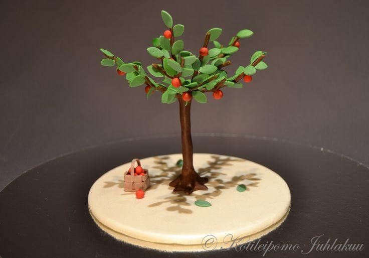 Fondant apple tree