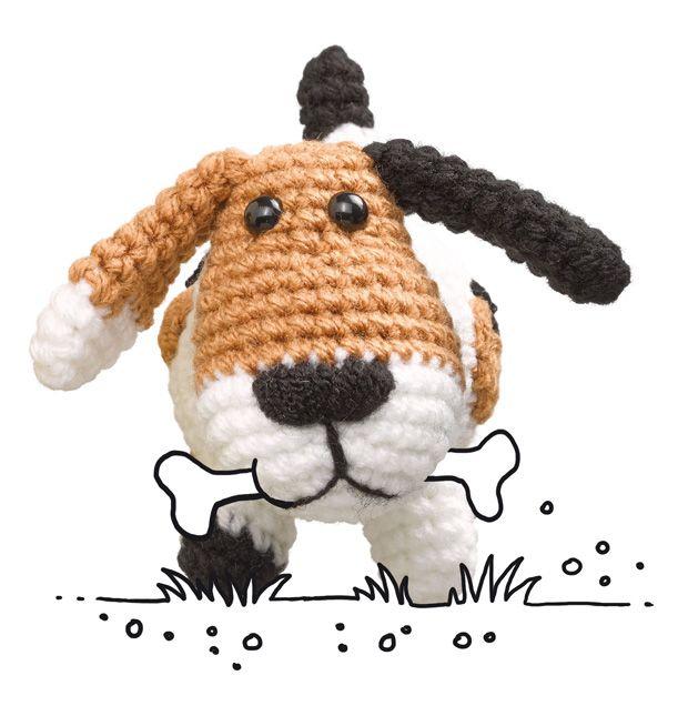 Häkelmuster: Hund häkeln - so geht's! - BRIGITTE