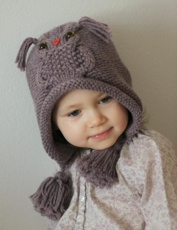 Owl ways Hat by KatyTricot | Knitting Pattern - Looking for your next project? You're going to love Owl ways Hat by designer KatyTricot. - via @Craftsy