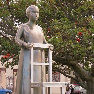 Anton Momberg's tribute to the countless women who helped grow the city of Port Elizabeth. South Africa.