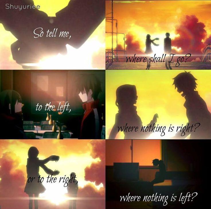 Anime With Rude Quote: Anime: Mekakucity Actors