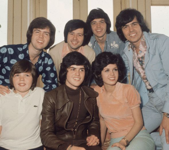 the Osmond brothers, jimmy osmond, merrill osmond, jay osmond, UK tour, back together, bankrupt, donny and marie,