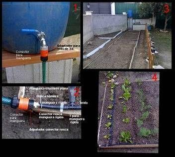 Como instalar riego por goteo automático