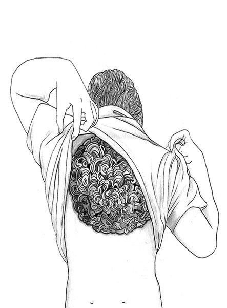 «Excuse My Back». Евгений Тонконогий. #helloposter #poster #posters #art #modernart #printart #illustrators #illustration