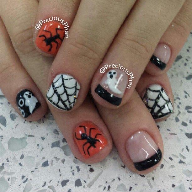 Halloween by preciousphan #nail #nails #nailart