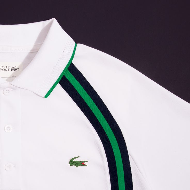 Kick off the weekend with a stylish tennis match and your My Lacoste Polo.