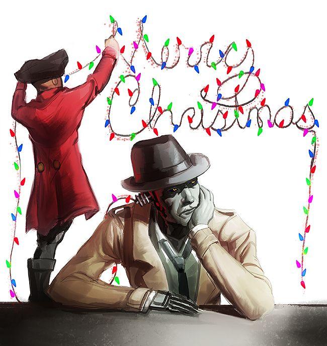 Nick powers the Christmas season…….or at least the Christmas lights. A Christmas sketch from me to you