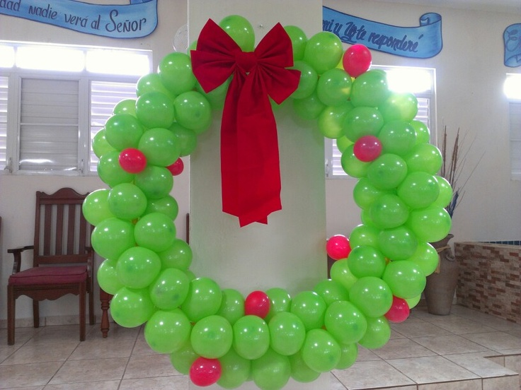 Fun Christmas wreath for the office, school or anywhere.
