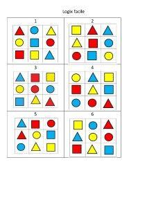 http://netia59a.ac-lille.fr/va.anzin/spip.php?rubrique122 Dans un premier temps, il s'agit de repérer des éléments dans un carré de 9 cases entièrement puis partiellement représenté. Petit à petit, on apprend à mieux décoder les consignes non verbales....