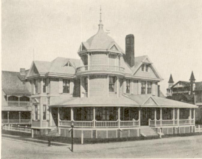 Dr Edward H Williams Cottage On Atlantic Avenue In Beach Haven New