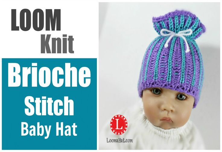 Loom Knit Baby Hat Tutorial : Best looming images on pinterest loom knitting