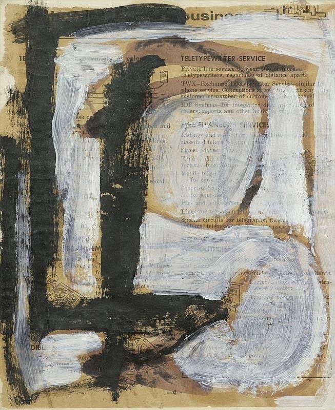 FRANZ KLINE 1910 - 1962 Untitled.