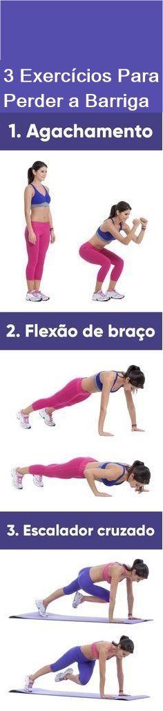 Os Melhores Exercícios Para Perder Barriga #perderpeso #Eliminarbattiga #Perdergordua