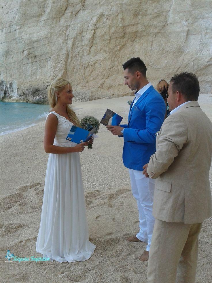 romantyczny ślub na prywatnej plaży w Zatoce Wraku romantic beach wedding in Ship Wreck