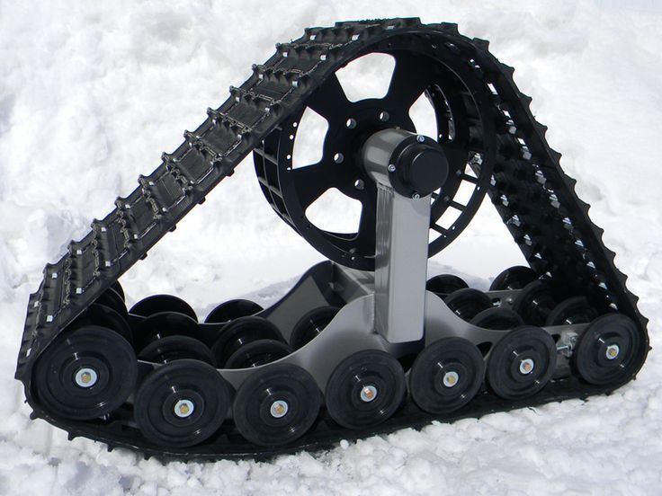 Rubber Track Conversion Systems For Off Road