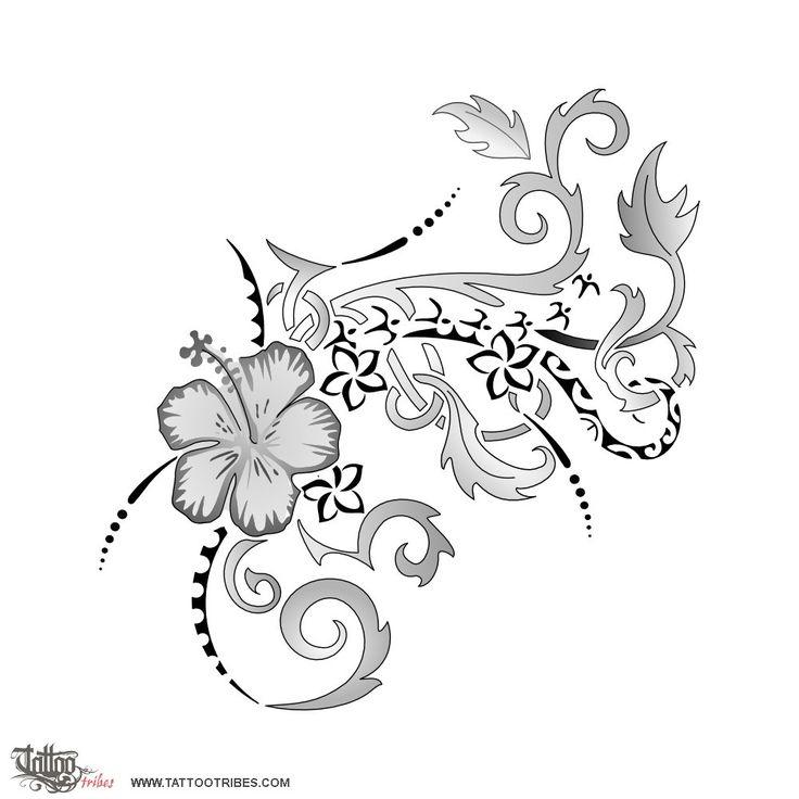Oltre 20 migliori idee su tatuaggio schiena su pinterest for Hibiscus flower tattoo shoulder blade