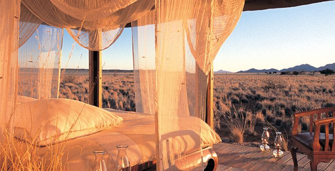 Most Romantic Beds with a View - Wolwedans Private Camp  #love #romance #valentinesday #Africa #weloveafrica
