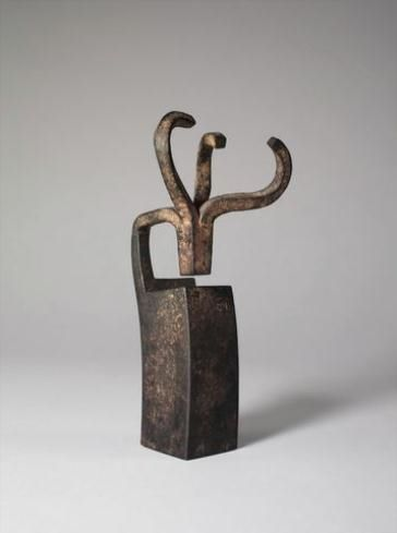EDUARDO CHILLIDA http://www.widewalls.ch/artist/eduardo-chillida/ #contemporary #art #sculpture