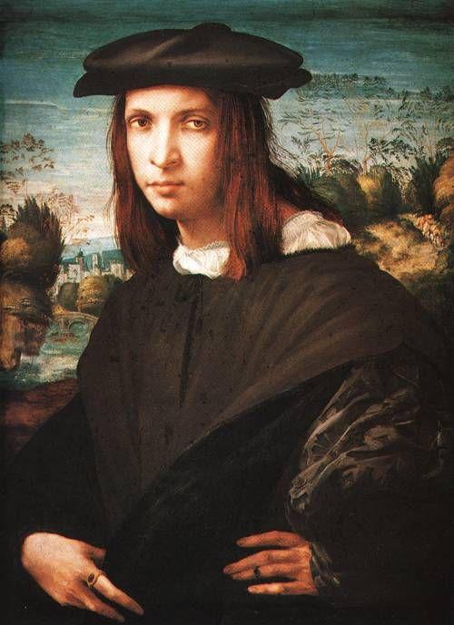 Portrait of a Young Man 1517 18Gemalderie, Berlin  Giovanni Battista di Jacopo called Rosso Fiorentino