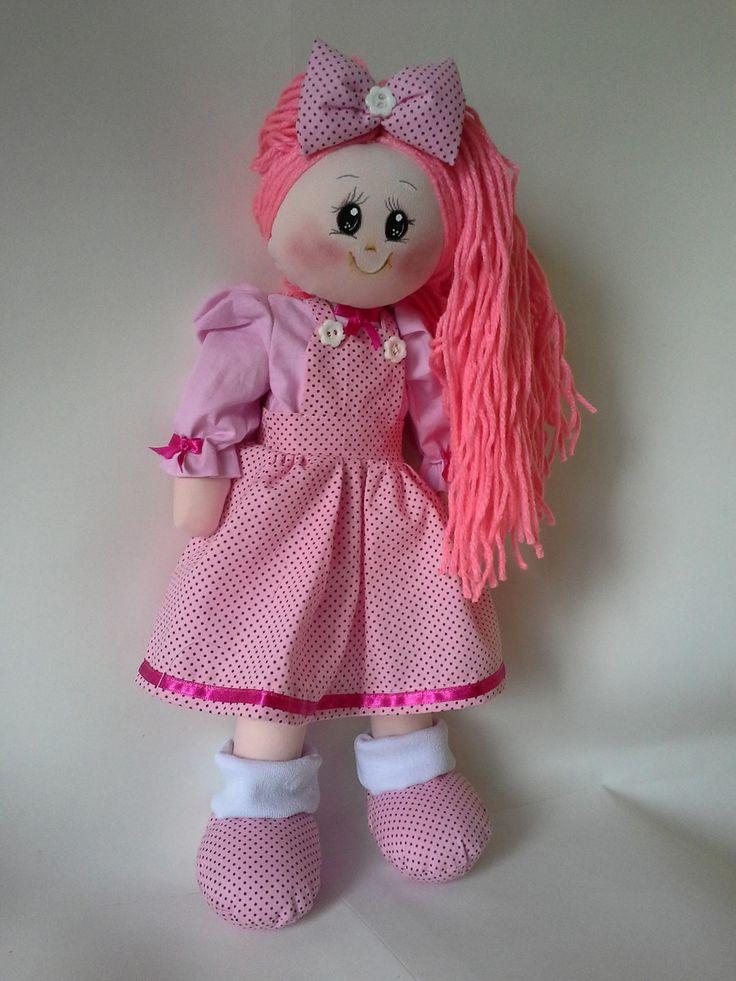boneca de pano | Costurinhas Patchwork Zama | Elo7