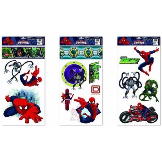Disney - Spiderman Large Wallies Wall Stickers