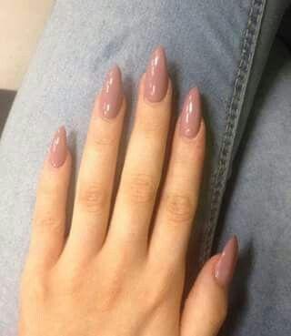 Uñas color palo de rosa