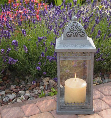 Wysoki Lampion w Stylu Prowansalskim / High Lanterns in Provencal style
