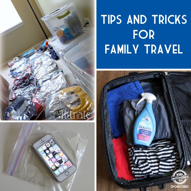15 Awesome Travel Hacks All Parents Need To Know brought to you by @DownyWRplus