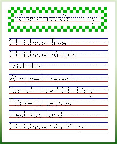 79 best images about improving handwriting on pinterest handwriting worksheets christmas. Black Bedroom Furniture Sets. Home Design Ideas