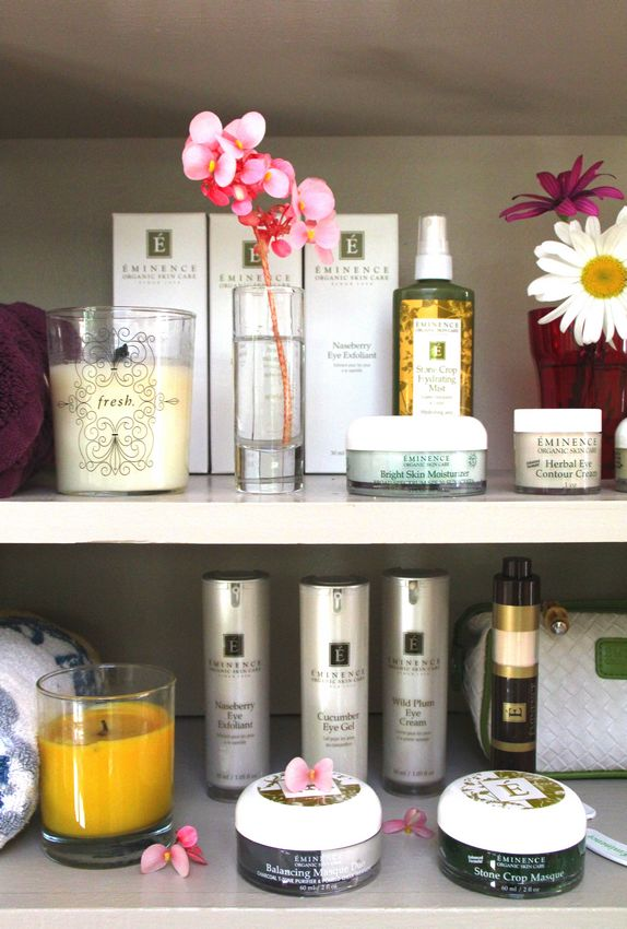 My All Natural Morning Skin Care Routine with Eminence
