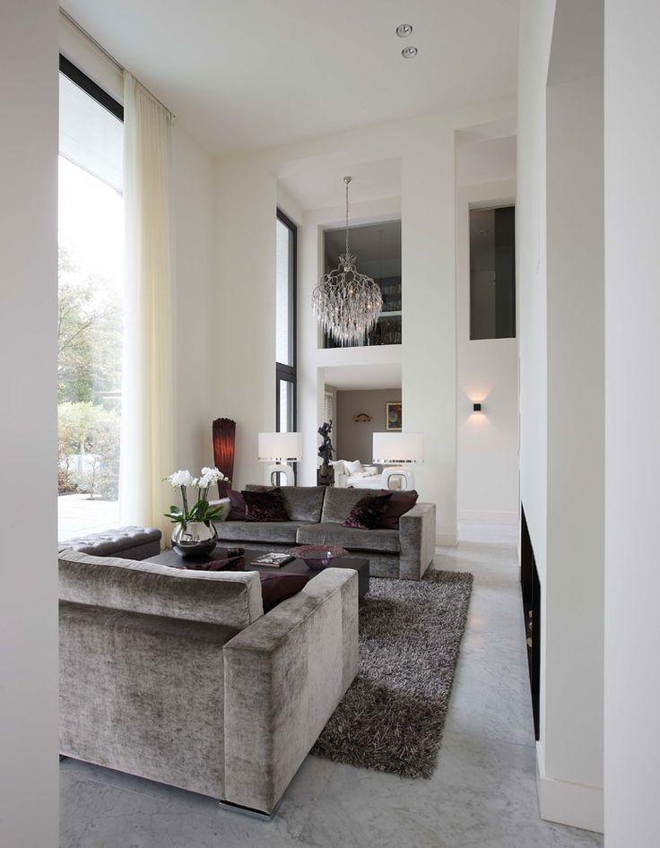 This living room takes my breath away.... Exclusive villa construction Vlassak Verhulst
