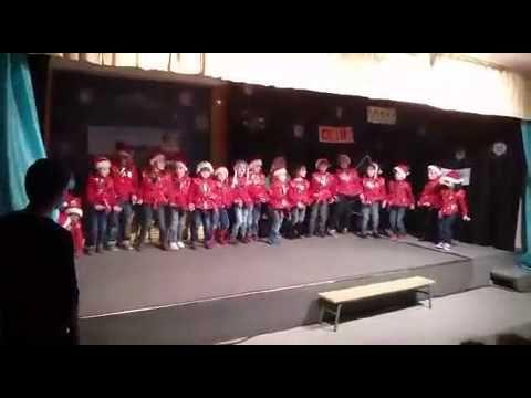 Baile villancico navidad rock