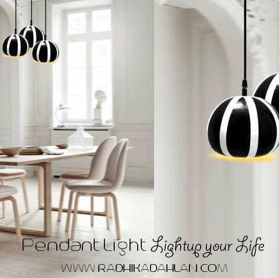 #Black and #white #melon  Very #creative look for your #lifestyle, try this #pendant light for ur #homedecor #livingroom #reasnable #price #cheap & #best. #glow #home with our unique collection of pendant light. #handmade #terracotta #material #contact