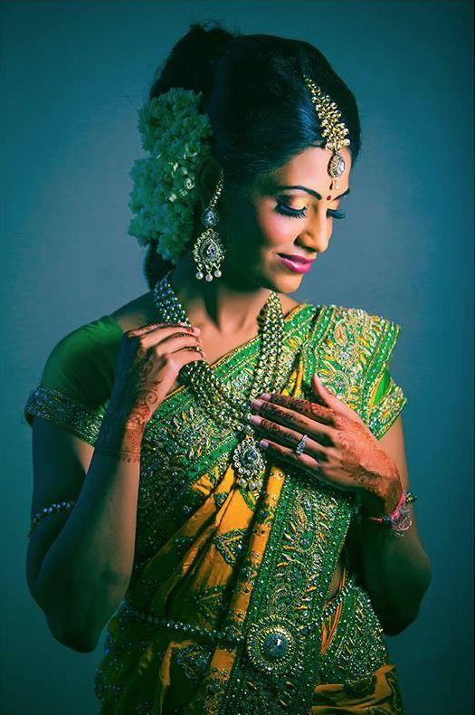 Tamil wedding bride