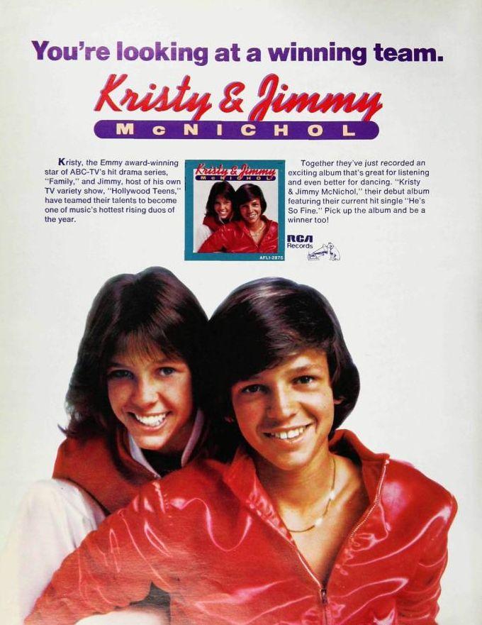 178 best Kristy McNichol images on Pinterest | Kristy ...  Jimmy