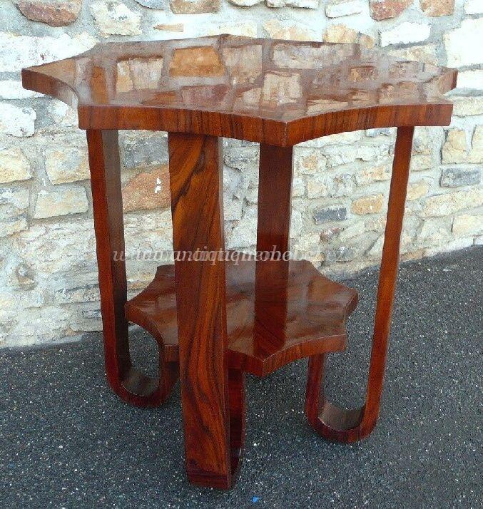 Art Deco Mikšík stůl.