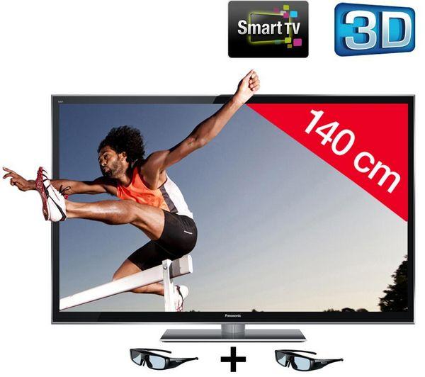 PANASONIC Ecran plasma 3D TX-P55VT50E prix promo Pixmania 1 499.00 € TTC au lieu de 1 669,00 €
