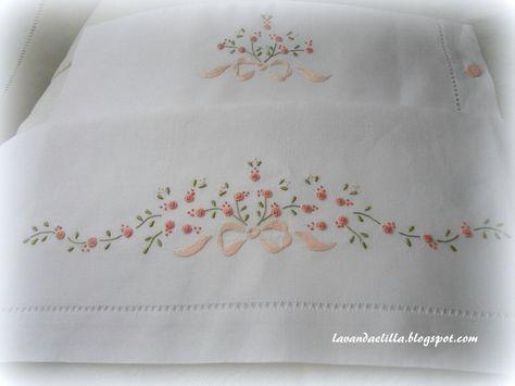 disegni e schemi per lenzuolino sacca e bavaglino by Lavandaelilla