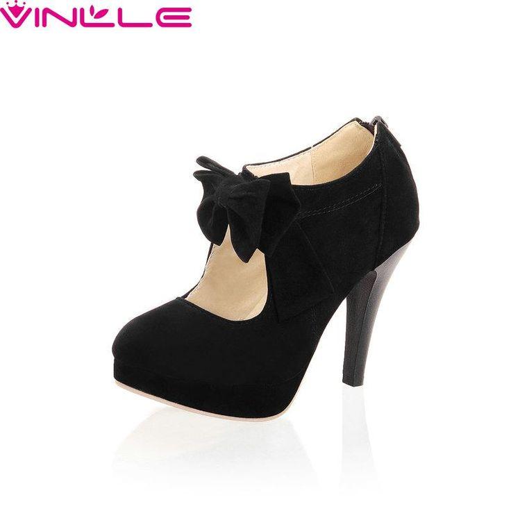 $44.71 (Buy here: https://alitems.com/g/1e8d114494ebda23ff8b16525dc3e8/?i=5&ulp=https%3A%2F%2Fwww.aliexpress.com%2Fitem%2FZipper-Round-Toe-Miss-Shoes-Thin-High-Heel-Scrub-Bow-Tie-Mary-Janes-Party-New-Spring%2F32572629520.html ) Zipper Round Toe Miss Shoes,Thin High Heel Scrub Bow Tie Mary Janes Party New Spring Autumn Fashion Women Pump Size 34-42 Black for just $44.71