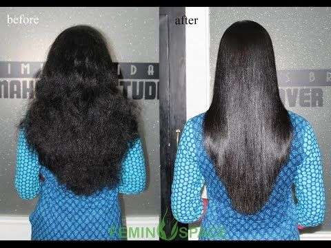 Simple Secrets Permanent  Hair Straightening Cream at Home With All Natural Ingredients/100% Work - YouTube