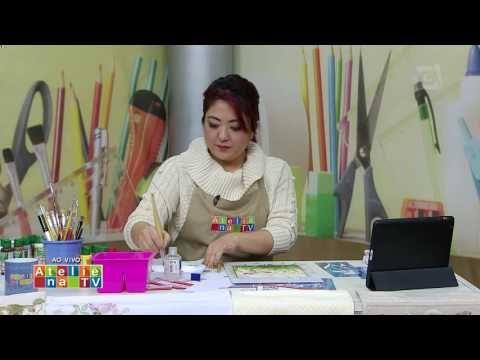 Ateliê na TV - TV Gazeta - 01.07.16 - Mayumi Takushi - YouTube