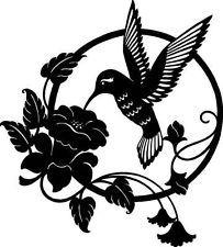 Free Hummingbird Cross Stitch Charts | HUMMING BIRD SILHOUETTE Cross Stitch Chart - FREE P&P
