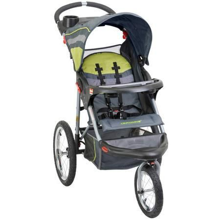 Baby Stroller Trend Expedition Jogging Carbon - Strollers