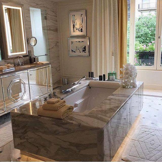 Elegant Yachten Luxus Leben Wohnen Master bad Master schlafzimmer Marmor badezimmer Traumb der Luxus wohnungen