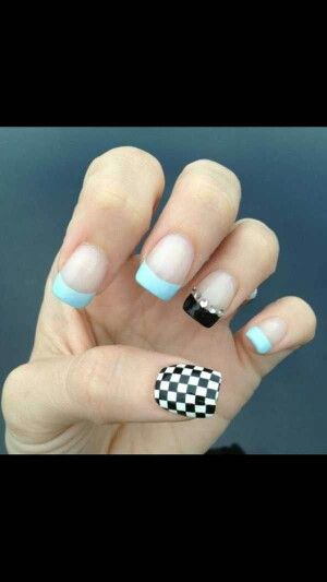 1000+ Ideas About Racing Nails On Pinterest