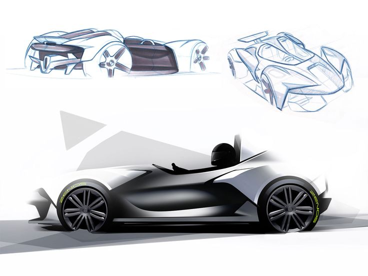 Zenos Cars E10 roadster - Design Sketches