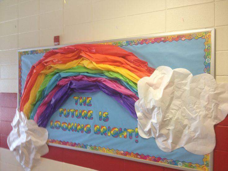 Rainbow Classroom Decor ~ Best rainbow bulletin boards ideas on pinterest