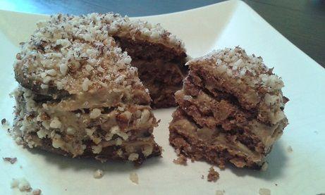 Mini Eszterházy torta fitnesz módra :: Fitten-pozitívan :)